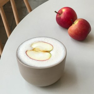 Apple latte