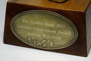 Inscription on the Golden Duck