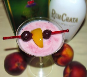 Peachable pink drink