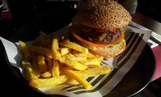 Catalan Burger with Golden Fries