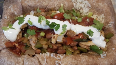 Chicken or beef burritos from Good to Go in Cherry Valley NY
