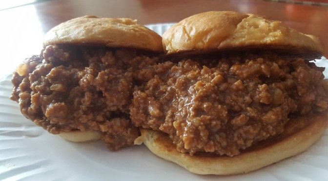 Sloppy Joe with Mac and Cheese