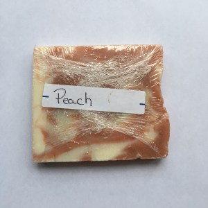 Weed Oil Infused Peach Soap