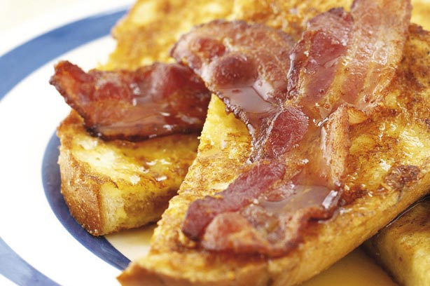 Image result for french toast and bacon
