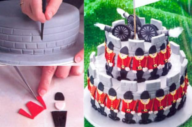 Soldier And Castle Kids Birthday Cake Kids Birthday