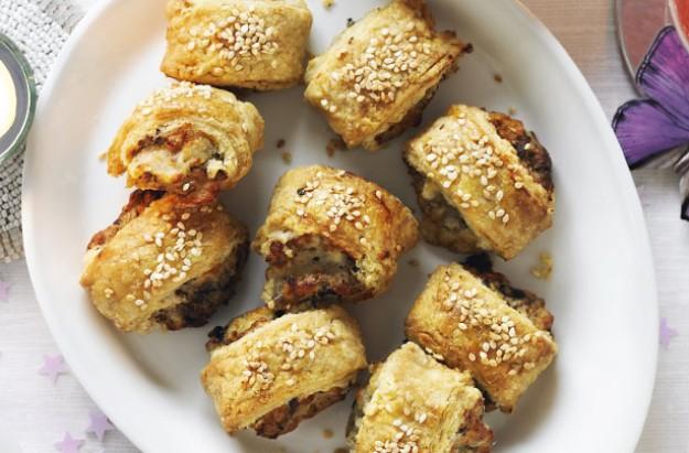 Image result for Veggie sausage rolls