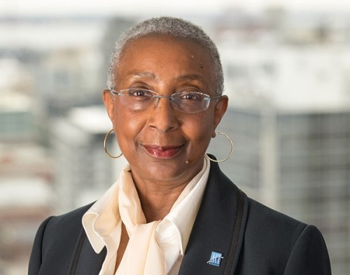 ACI Director General Angela Gittens says airport carbon emissions were reduced by 200,000 tonnes in 2015/2016. Image source: 'Airport World'