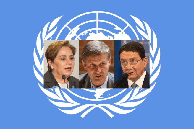 Three UN bosses offer four ways to be a sustainable tourist: Patricia Espinosa by UNclimatechange (CC BY 2.0) via Flickr; Erik Solheim by Harry Wad (CC BY-SA 3.0) via Wikimedia Commons; and Taleb Rifai by World Travel & Tourism Council (CC BY 2.0) via Wikimedia Commons