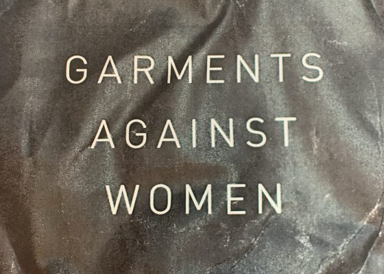 Garments Against Women by Anne Boyer