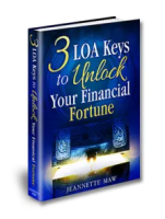 3 Law of Attraction Keys to Unlock Your Financial Fortune