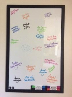 Favorite Things Appreciation Board