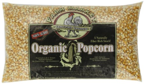 Great Northern Popcorn Organic Premium Popcorn, 5 Pound