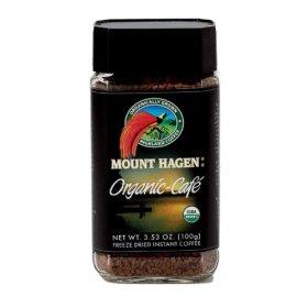 Mount Hagen Organic Freeze Dried Instant Coffee, 3.53-Ounce Jar