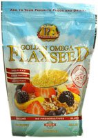 Premium Gold Flax True Cold Milled Flaxseed 24 oz.