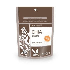 Navitas Naturals Organic Raw Chia Seeds,  1 Pound  Pouches