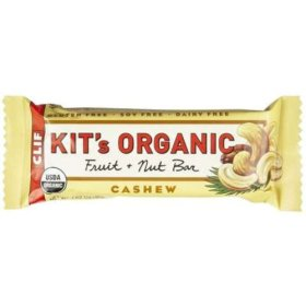 Clif Bar Kit's Organic Fruit and Nuts Bar, Cashew, 1.6 Ounce Bar, 12 Count