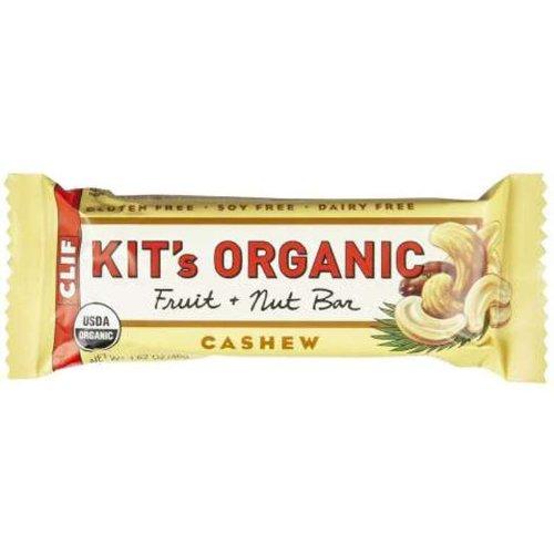 Clif Bar Kit's Organic Fruit and Nuts Bar, Cashew, 1.6 Ounce Bar, 12 Count