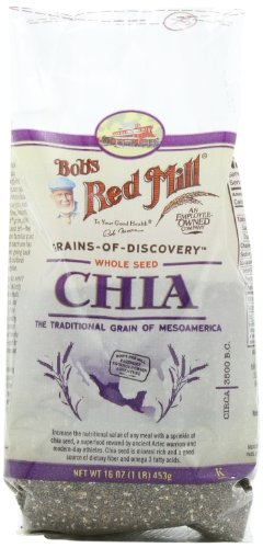 Bob's Red Mill Chia Seeds, 16-Ounce Bags (Pack of 4)