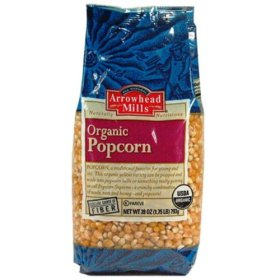 Arrowhead Mills Organic Popcorn, 28 Ounce (Pack of 6)