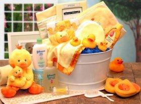 Bath Time Baby Gift Basket -Medium