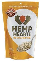 Hemp Hearts Raw Shelled Hemp Seeds – 8 oz Pkg