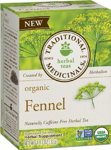 Traditional Medicinals Organic Fennel, 16-Count