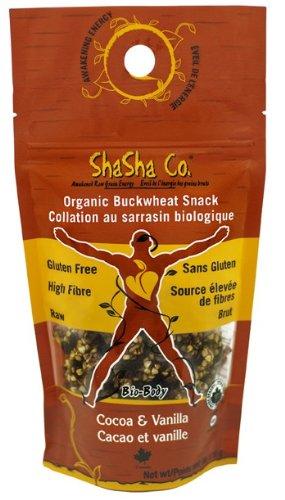 Organic Cocoa/Vanilla Buckwheat Snacks