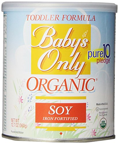 Babys Only Soy Organic Toddler Formula, 12.7-Ounce Canister