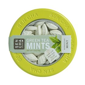 Sencha Naturals Green Tea Mints, Moroccan Mint, 1.2-Ounce Canister