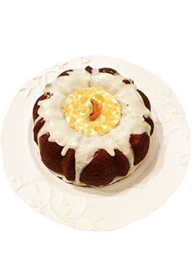 Heritage Bakery Mango Ginger Cake with Ginger Icing and Dry Organic Mango