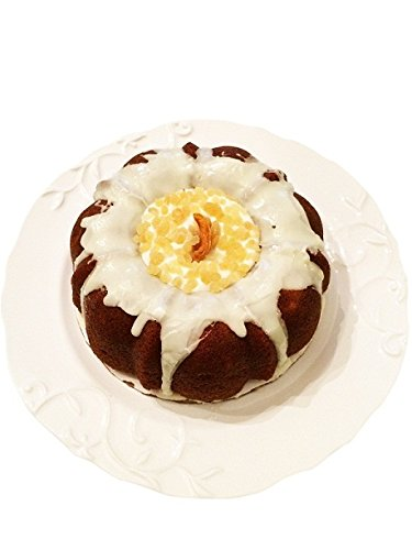 Heritage Bakery Mango Ginger Cake with Ginger Icing and Dry Organic Mango