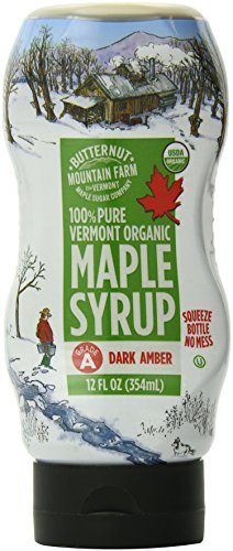 Butternut Mountain Farm 100% Pure Vermont Organic Maple Syrup, 12 Ounce