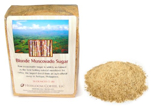 Raw Muscovado Sugar Organic, Blonde, Philippines, 2 LB