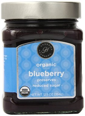 Grandma Hoerner's Organic Preserves, Blueberry, 12.5 Ounce