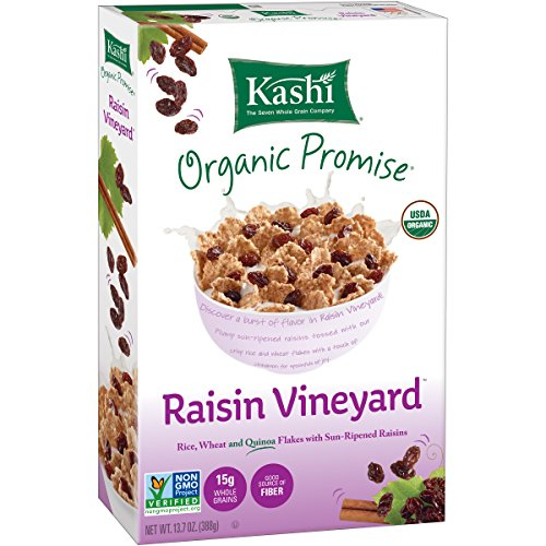Kashi Organic Promise Raisin Vineyard Cereal, 13.7 Ounce