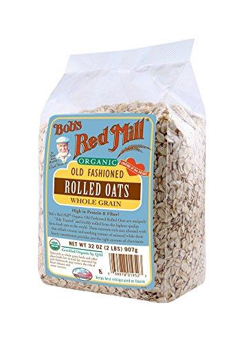 Bob's Red Mill Organic Regular Rolled Oats, 32 Oz