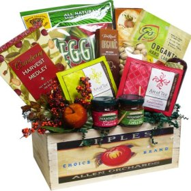 Art of Appreciation Gift Baskets Naturally Beautiful Gourmet Food and Snacks Gift Set