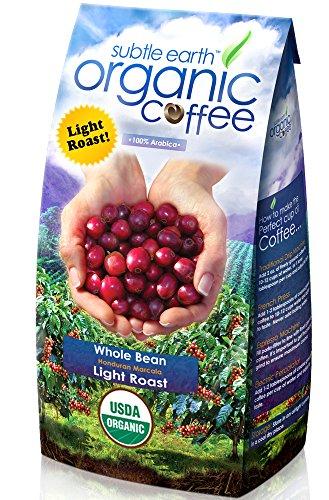 2LB Cafe Don Pablo Subtle Earth Organic Gourmet Coffee *Light Roast* Whole Bean – 2 Lb Bag
