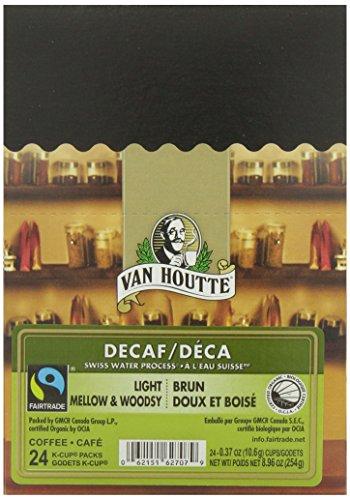 Van Houtte Swiss Water Decaf Fair Trade Organic Light Roast K-Cups, 24-Count