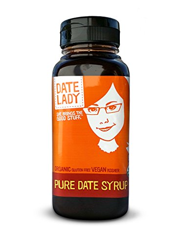 Date Lady Organic Pure Date Syrup in a Squeeze Bottle