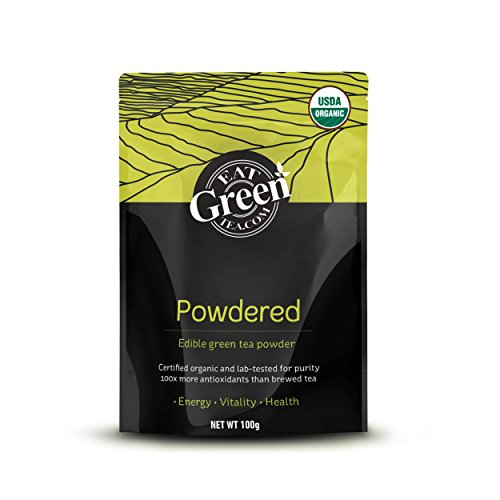 EatGreenTea Organic Matcha Green Tea Powder 100gm