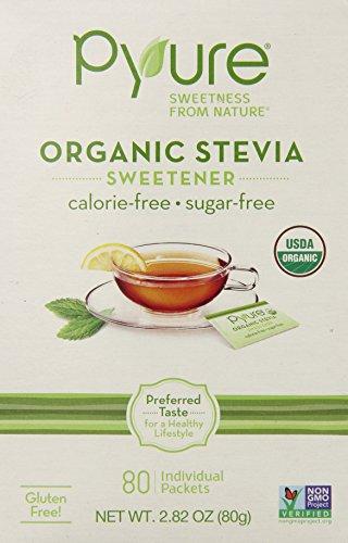 Organic Stevia Sweetener 80 Pkts