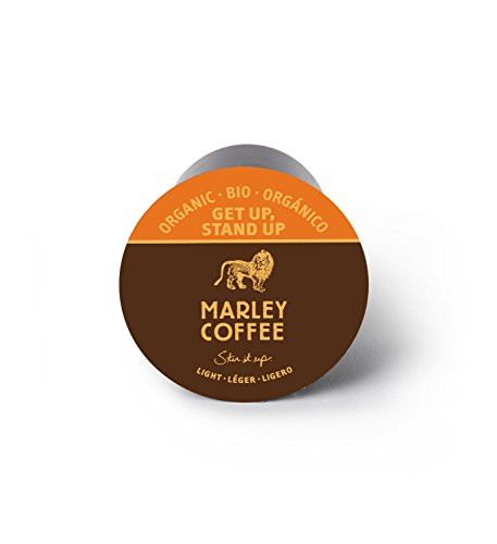 Marley Coffee, Get Up, Stand Up, Organic Light Roast, 24 Single Serve RealCups