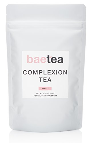 Baetea Complexion Detox Tea ● Get Healthy + Glowing + Imperfection Free Skin ● Potent Traditional Organic Herbs ● Ultimate Way to Nourish & Fortify