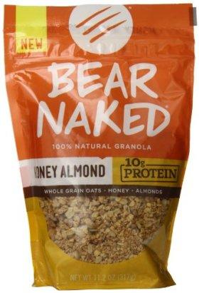 Bear Naked Granola, Honey Almond Protein, 11.2 oz