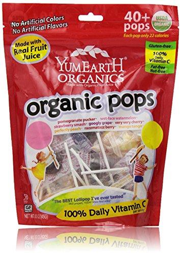 Yummy Earth Organic Lollipops, 8.5 Ounce