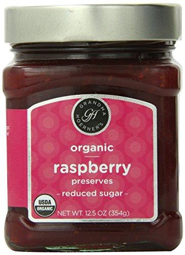 Grandma Hoerner's Organic Preserves, Raspberry, 12.5 Ounce