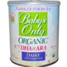 Baby's Only Organic Toddler Dairy Formula with DHA & ARA – 12.7 oz – 6 pk Gift, Baby, NewBorn, Child