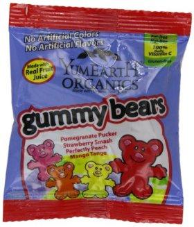 YumEarth Organic Gummy Bears, 50 Count