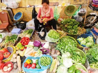Fresh fruits & veggies